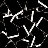 вектор абстрактной картины иллюстрации предпосылки безшовный Современный комплект Smartphone Стоковая Фотография RF