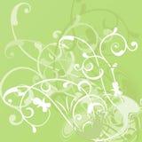 вектор абстрактной предпосылки флористический Стоковое Фото