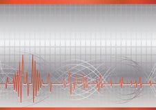 вектор абстрактной предпосылки высокотехнологичный Стоковые Изображения RF