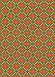 вектор абстрактной средневековой картины безшовный Стоковые Фотографии RF