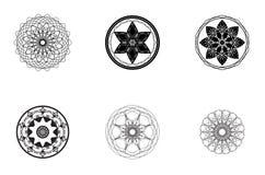 Вектор - абстрактные старые символы Стоковое Изображение