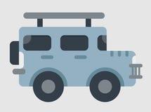 Вектор автомобиля виллиса Стоковые Изображения