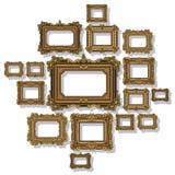 Вектор антиквариата рамки Стоковая Фотография