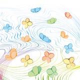 вектор бабочек Стоковое Изображение