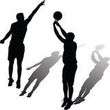 Вектор баскетболиста Иллюстрация штока