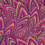 Вектор, безшовная, красочная, абстрактная предпосылка Стоковые Фотографии RF