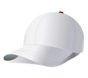 вектор бейсбольной кепки Стоковые Изображения RF