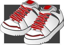 вектор ботинка illustrationn Стоковые Фото
