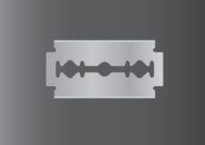 Вектор бритвы, лезвие бритвы, бритва в темной предпосылке Стоковые Фотографии RF