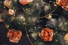 вектор вала иллюстрации рождества предпосылки красивейший Стоковые Фотографии RF