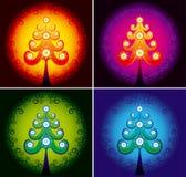 вектор вала цвета рождества Стоковые Фото
