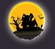 вектор вампира знахарки мрачного жнеца иллюстрации halloween установленный Стоковое Изображение RF