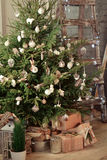 вектор вала иллюстрации подарков рождества Стоковое Фото