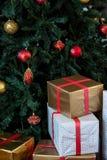 вектор вала иллюстрации подарков рождества Стоковые Изображения RF