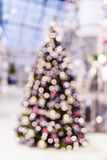вектор вала иллюстрации рождества предпосылки красивейший Света Bokeh defocused Стоковые Фотографии RF