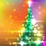 вектор вала рождества eps8 включенный Стоковые Изображения RF