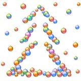 вектор вала рождества eps8 включенный Стоковое Изображение