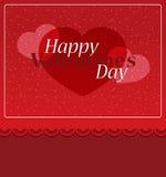 вектор Валентайн иллюстрации s сердца зеленого цвета dreamstime конструкции дня карточки стилизованный Стоковые Изображения