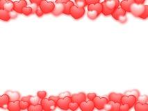 вектор Валентайн JPEG s иллюстрации карточки Стоковое Изображение