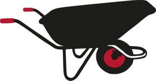 Вектор вектора кургана садовничая иллюстрация вектора