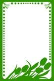 вектор весны рамки иллюстрация вектора