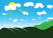 вектор весны eps предпосылки включенный Стоковое Изображение RF