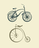 Вектор велосипеда Стоковое Изображение