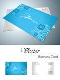 вектор визитной карточки корпоративный Стоковые Фотографии RF