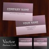 вектор визитной карточки Стоковые Фото