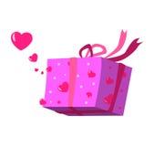 вектор влюбленности коробки Бесплатная Иллюстрация