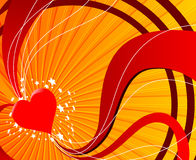 вектор влюбленности предпосылки Стоковые Изображения