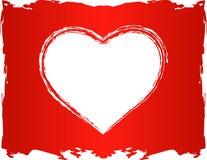 вектор влюбленности сердца стоковые фото