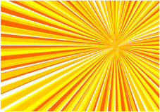 вектор восхода солнца предпосылки Стоковая Фотография RF