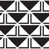вектор геометрической картины безшовный Повторять абстрактные линии Стоковые Изображения