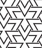 вектор геометрической картины безшовный Современная текстура треугольника, repe Стоковые Фотографии RF