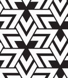 вектор геометрической картины безшовный Современная текстура треугольника, repe Стоковая Фотография