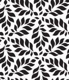 вектор геометрической картины безшовный Современное флористическое, текстура листьев Стоковая Фотография