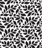 вектор геометрической картины безшовный Современное флористическое, текстура листьев Стоковое Фото