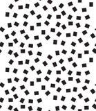 вектор геометрической картины безшовный Современный квадрат, текстура точек Стоковое Изображение
