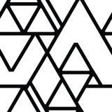 вектор геометрической картины безшовный Стоковые Изображения RF
