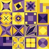 вектор геометрической картины иллюстрации безшовный Стоковые Фото