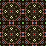 вектор геометрической картины иллюстрации безшовный Стоковое Изображение RF