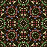 вектор геометрической картины иллюстрации безшовный Стоковое Изображение