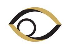вектор глаза золотистый иллюстрация вектора