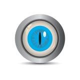 вектор глаза eps кнопки Стоковые Изображения RF