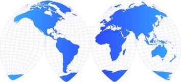 вектор глобуса Стоковое Фото