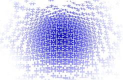вектор головоломки предпосылки Стоковое Фото