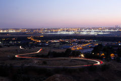 вектор горизонта конструкции города предпосылки ваш Стоковые Изображения