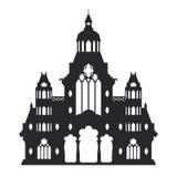 Вектор года сбора винограда замка Стоковые Фото
