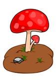 Вектор гриба стоковая фотография